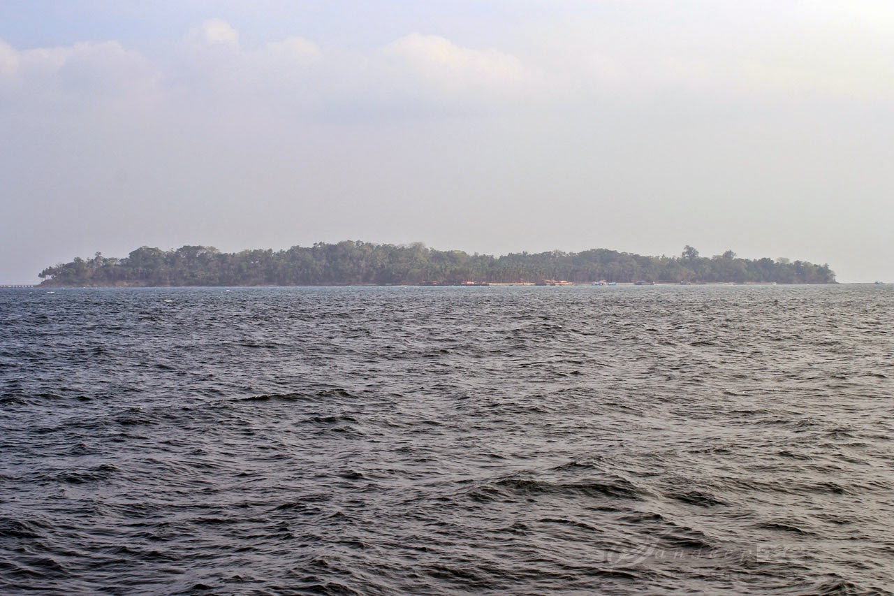 Approaching Ross Island