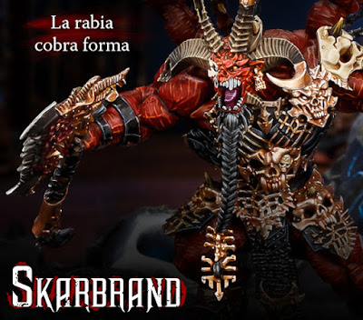 Prepedido de Skarbrand de Games Workshop