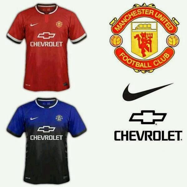 Kostum Baru Manchester United 2014/2015