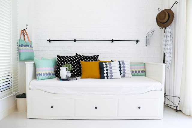 white minimalist room