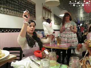 kitchenette,kitchenette restaurant,kitchenetterestaurant,kitchenette restaurant nyc,new york,nyc,ild,international lolita day,new york international lolita day,lolita,lolita fashion, tea,cake,desserts,white elephant exchange,secret santa,gifts,