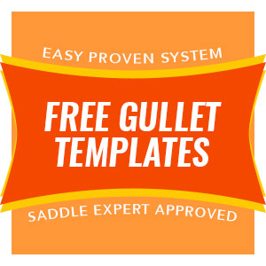 Saddle Expert Gullet Templates
