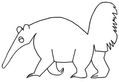 Desenhos de Animais param imprimir