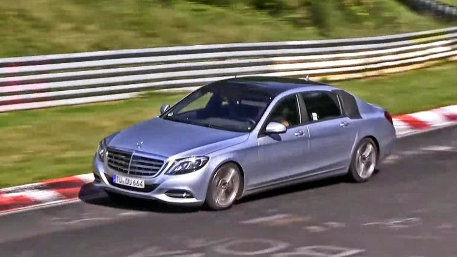 Watch the upcoming 2015 Mercedes-Benz Maybach take on the Nurburgring