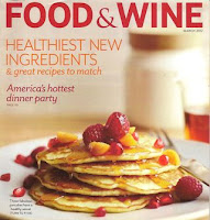 Food Wine Magazine February Cover Recipe