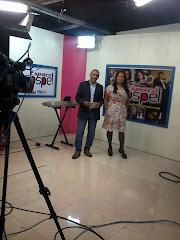 Cantora Cassia Na TV
