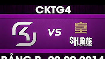 CK Thế Giới 2014 – Bảng B, SK vs SHR