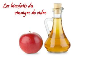 Les bienfaits du vinaigre de cidre