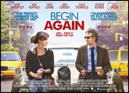 Póster de Begin Again (John Carney, 2013)