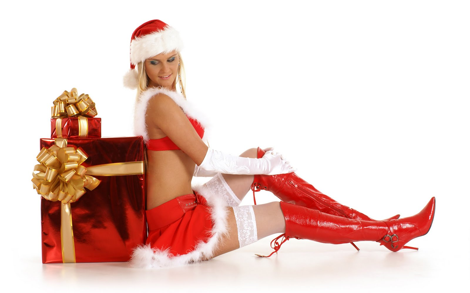 downloads sexy xmas wallpaper pack