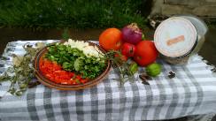 Entre tomates y especias