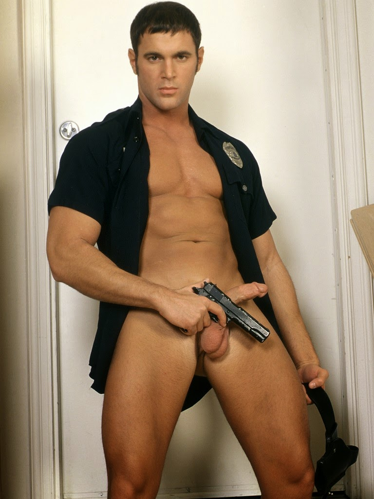 Hot naked police gay man apprehended