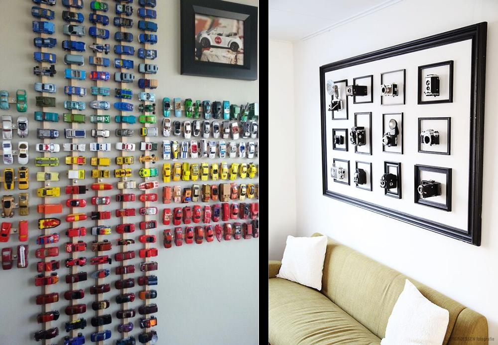 La fabrique d co d co murale exposez vos collections for Decorer les murs de sa chambre