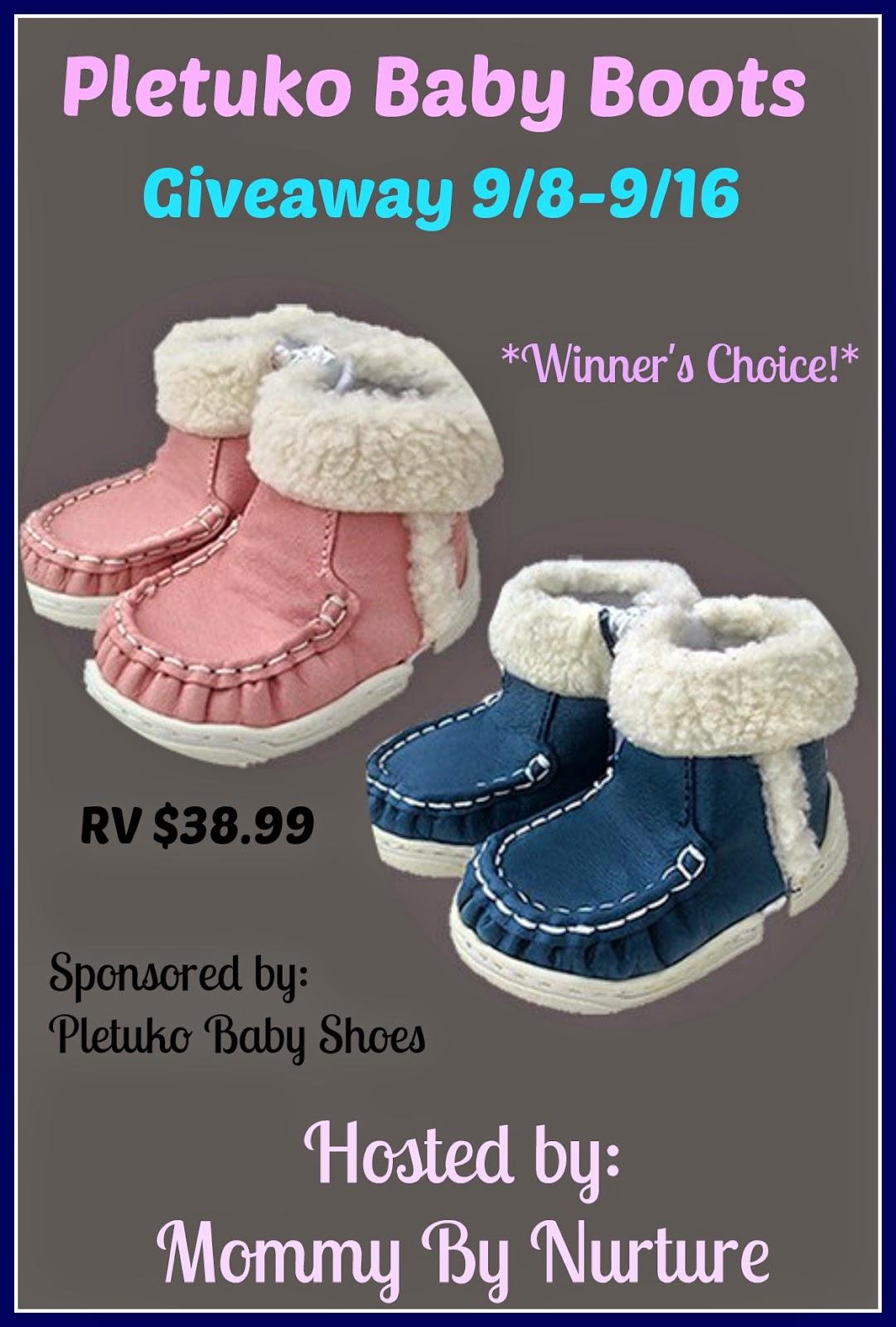 Pletuko Baby Boots Giveaway