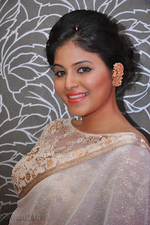 Anjali latest Glamorous pics in saree 015