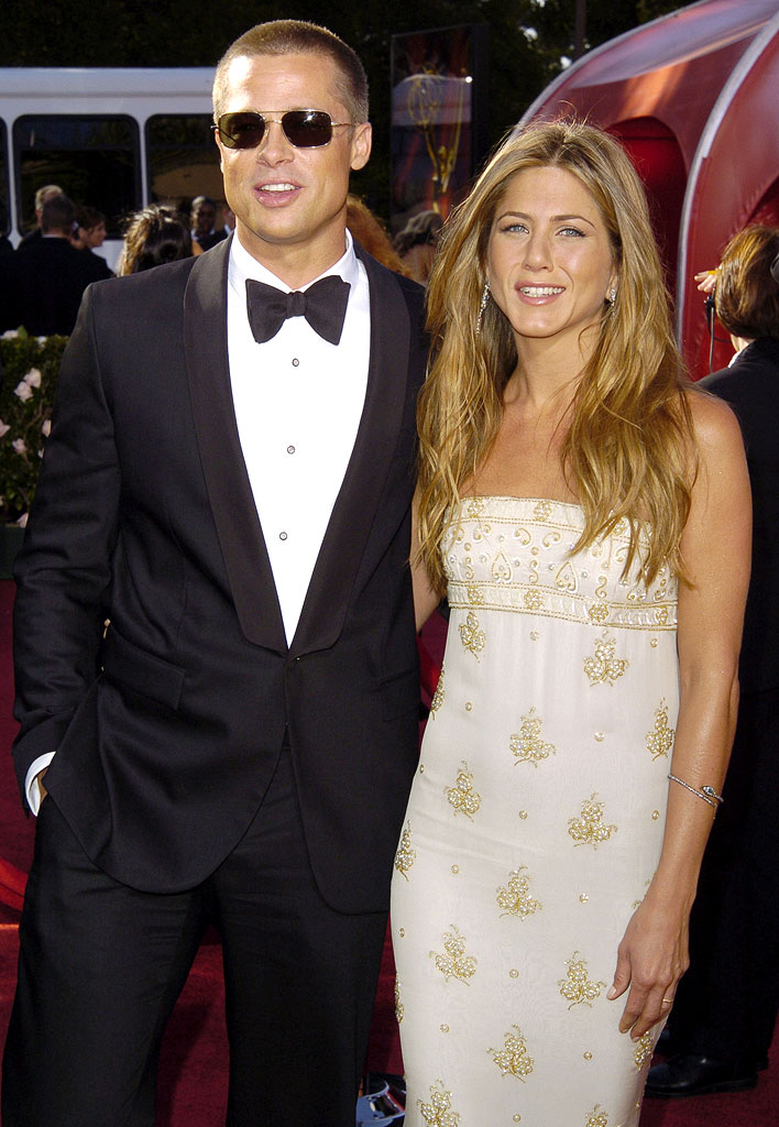 Brad Pitt And Jennifer Aniston. Brad Pitt And Jennifer Aniston