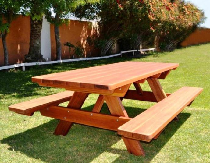 Скамейки столы деревянные своими руками
