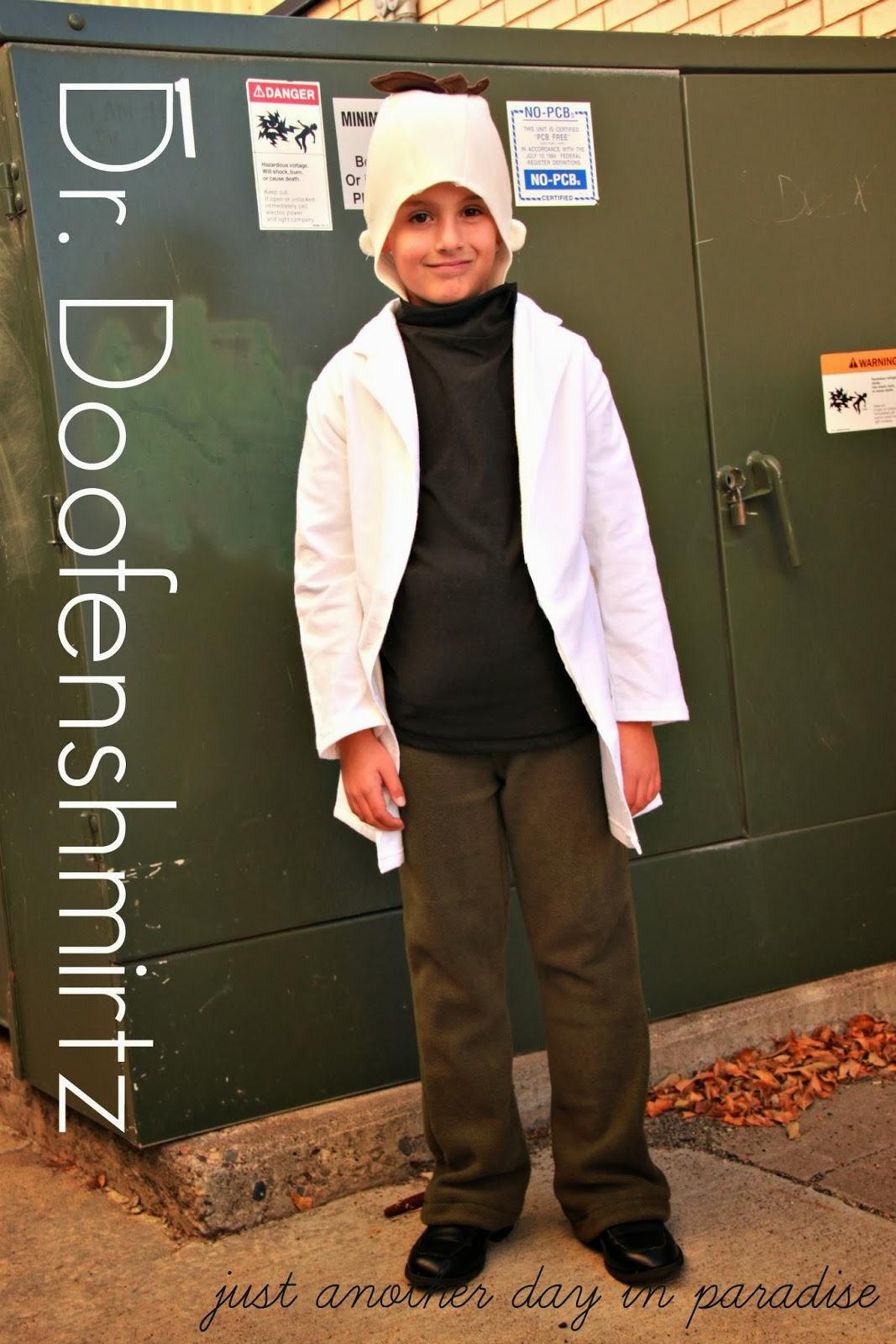 larissa another day: a phineas and ferb halloween: dr. doofenshmirtz