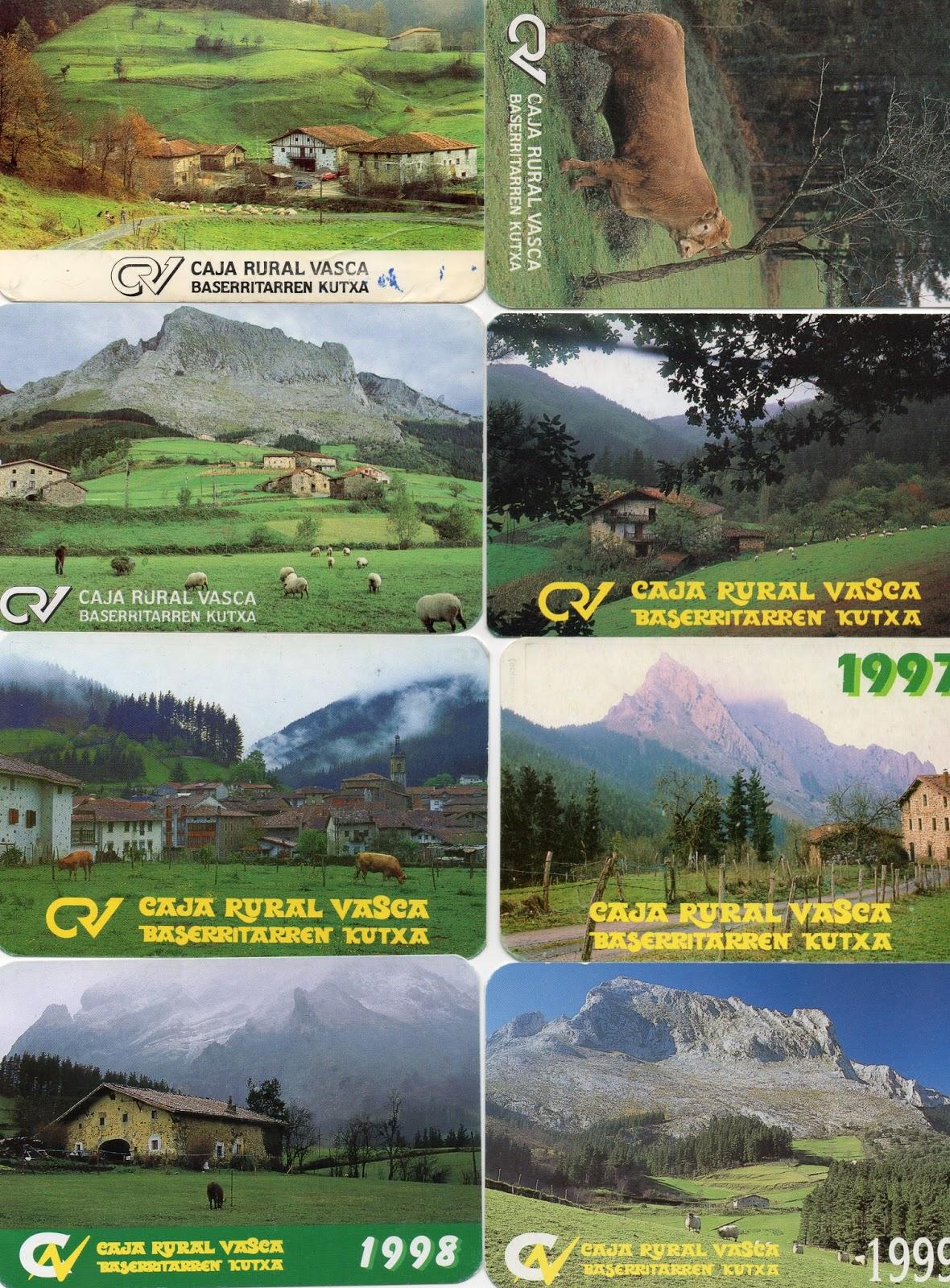 Colecciono calendarios caja rural vasca ipar kutxa 1983 for Kutxa oficinas madrid