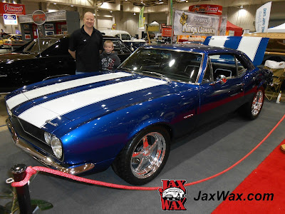Jax Wax 1967 Chevy Camaro