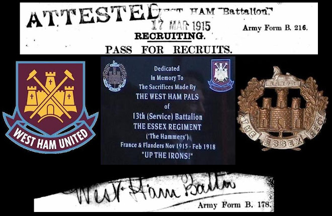 the West Ham Pals of 13th Essex