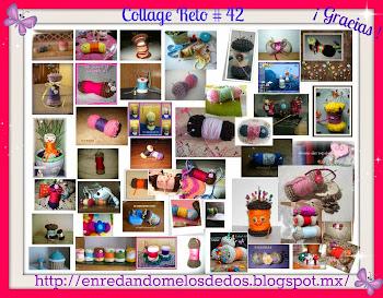 Collage de Trabajos cumplidos Reto #42
