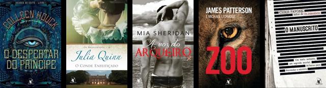 Lançamento de Livros - Agosto / Editora Arqueiro