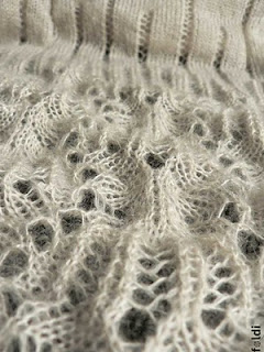 lace before blocking