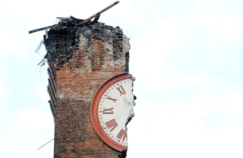 Terremoto 6º de Italia (20 de Mayo 2012)
