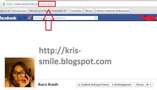 kode facebook aura kasih