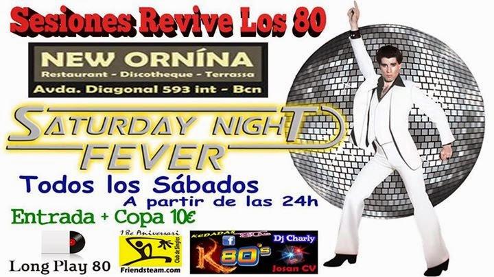 Flyer Sesiones Revive Los 80