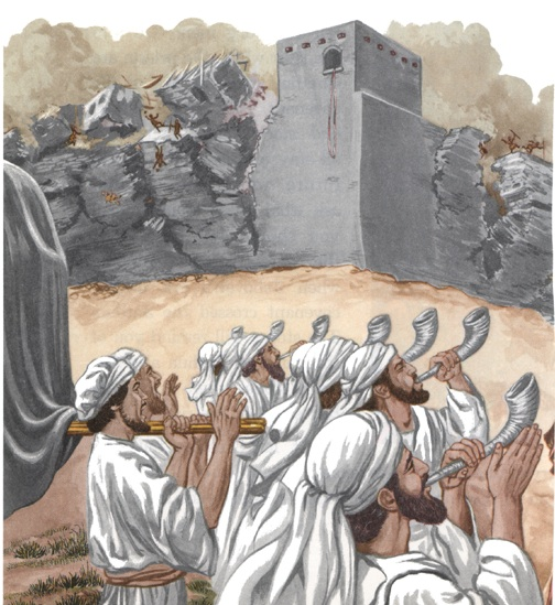 Bible Event : Walls of Jericho Fell