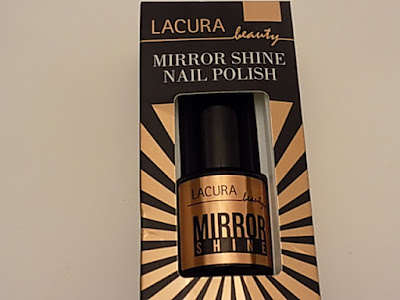 Aldi Lacura mirror shine nail polish review