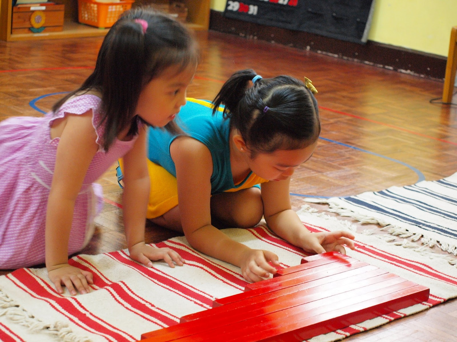 settling skills in a preschool