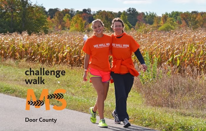 Challenge Walk MS in Door County, Wisconsin