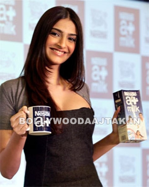 1 - Sonam Kapoor launches Nestle A+ milk