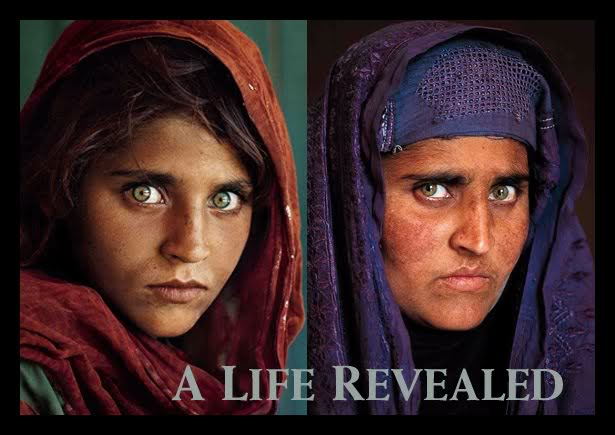 Афганская девушка Шарбат Гула (National Geographic)