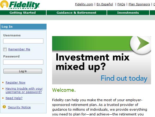401k fidelity