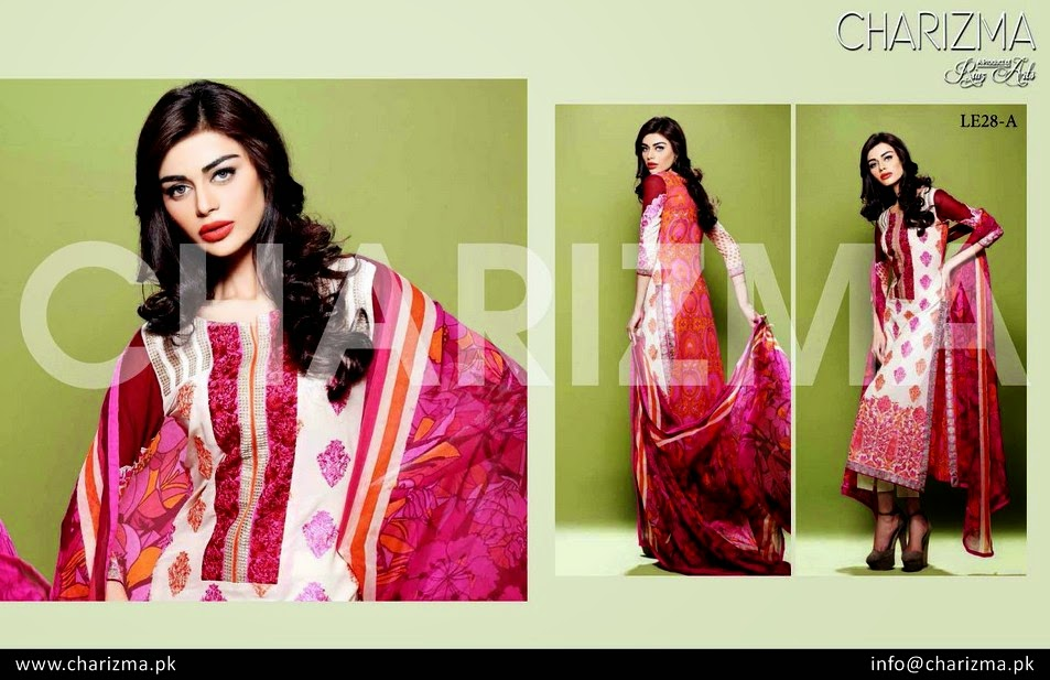 Riaz Arts Launched Charizma EID Dresses