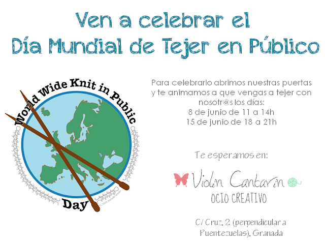 wwkip, Día Mundial de Tejer en Público,World Wide Knit in Public