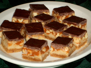 Peanut Butter Candy Kafe Squares