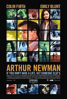 Cartel de la película 'Arthur Newman', del director Dante Ariola, con Colin Firth y Emily Blunt. Revista Making Of
