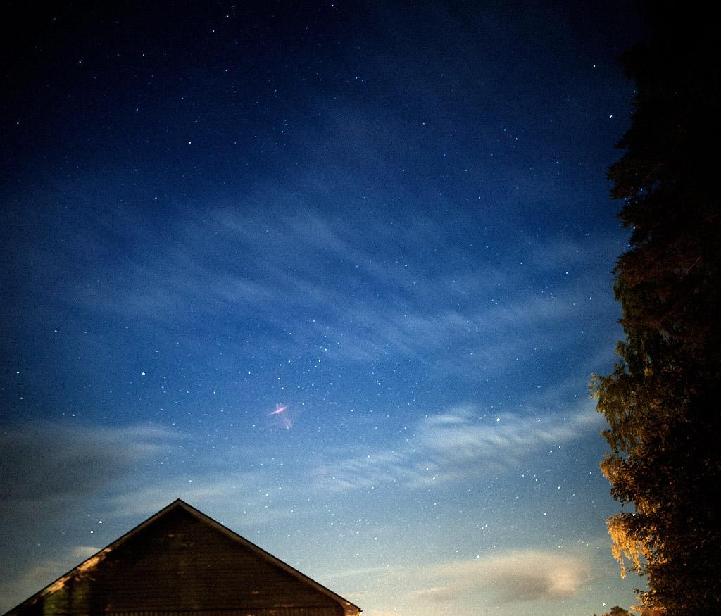 Stjärnhimmel i Grycksbo