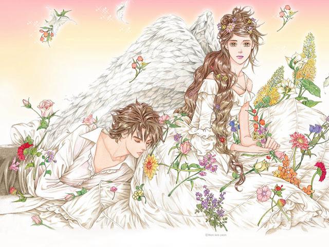 Dibujos Románticos Fondos de Pantalla
