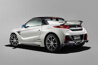 Honda S660 (Mugen) (2015) Rear Side