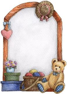Imagens para decoupage de ursinhos