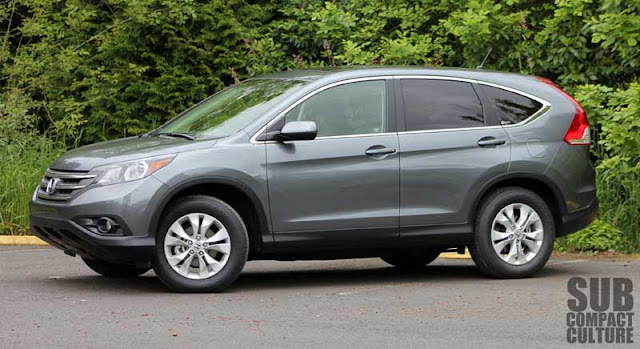 2012 Honda CR-V EX AWD Review crossover SUV