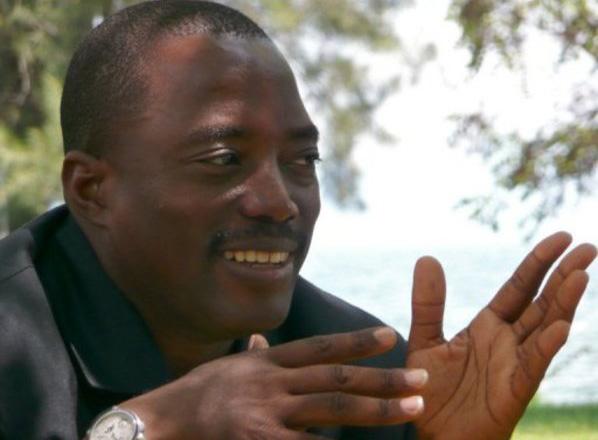 Joseph Kabila, presidente de Republica Popular Democrática del Congo desde enero 26, 2001