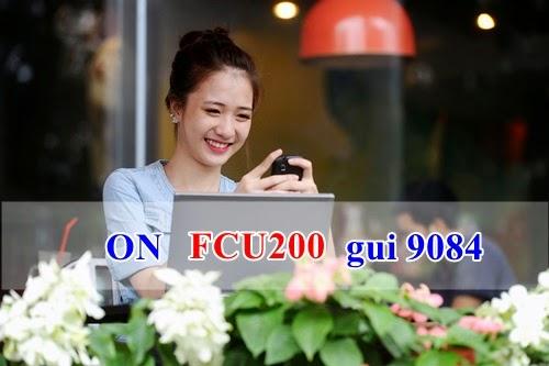 Đăng ký 3G gói FCU200 Mobifone Fast Connect