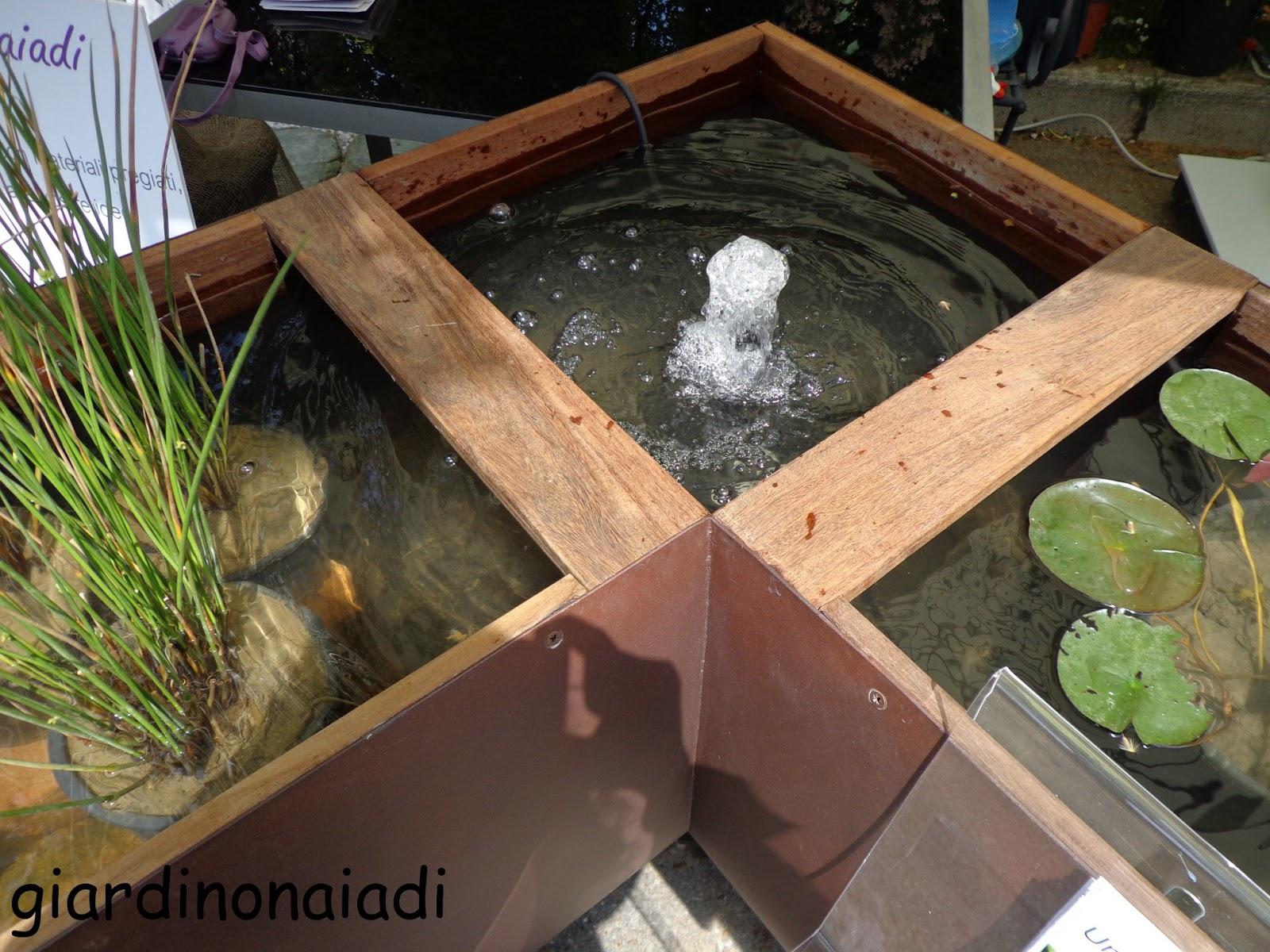 il giardino delle naiadi: giardini e terrazzi 2013 - Piccolo Giardino Con Fontana